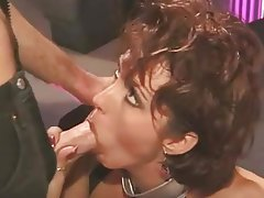 Big Boobs, Brunette, Vintage, Blowjob