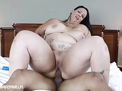 BBW, Big Boobs, Big Nipples, Student