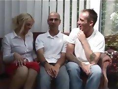 British, Threesome, Wife