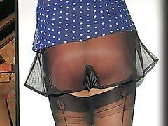 British, Lingerie, Softcore, Stockings