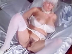 Big Boobs, Blonde, Masturbation, Vintage
