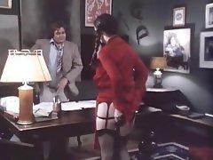 Blowjob, Hairy, Secretary, Stockings
