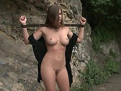 Brunette, Submissive, Teen, Big Tits