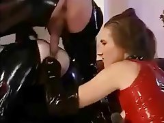 Anal, Double Penetration, Latex, Vintage