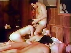 Blowjob, Cunnilingus, Group Sex, Hairy