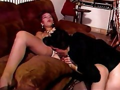 Double Penetration, Group Sex, Hairy, Stockings